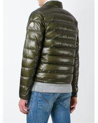 Moncler - Green 'acorus' Padded Jacket for Men - Lyst