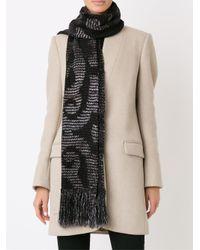 Cecilia Prado - Black Knitted Scarf - Lyst