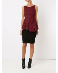 Cecilia Prado - Blue Sleeveless Knitted Blouse - Lyst