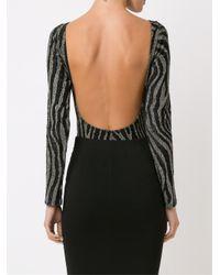 Cecilia Prado - Black Boat Neck Knitted Bodysuit - Lyst