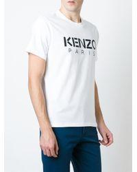 KENZO White - Paris T-shirt - Men - Cotton - M for men