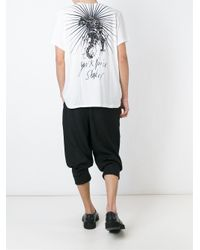 Haider Ackermann - White Back Print T-shirt for Men - Lyst