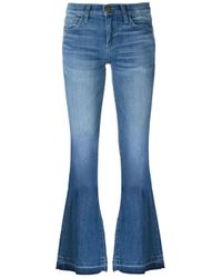 Current/Elliott | Blue 'the Low Bell' Jeans | Lyst