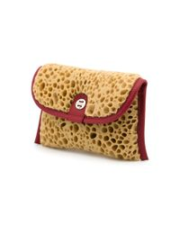 Zilla - Red Artificial Sponge Clutch - Lyst