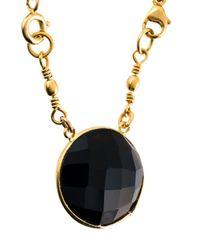 Gas Bijoux - Black 'serti' Necklace - Lyst