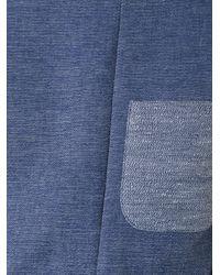 Fad Three Blue Deconstructed T-shirt for men