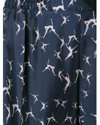 Max Mara - Blue Azzorre Trousers - Lyst