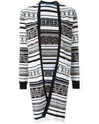 Guild Prime - Black - Open Front Cardigan - Women - Cotton/linen/flax - 36 - Lyst