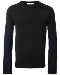 Givenchy Black Two-tone Jumper for men