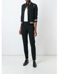 DKNY Black Cigarette Trousers