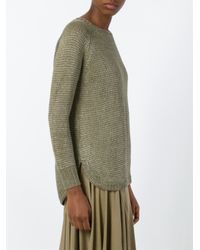 Polo Ralph Lauren Natural Slim Cable Cashmere Sweater