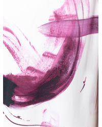 Dolce & Gabbana | Black Brushstroke Print Dress | Lyst