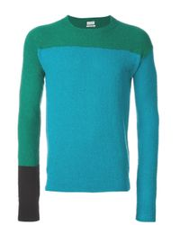 Paul Smith | Blue Crew Neck Knit Shirt for Men | Lyst