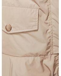 Moncler Natural 'chevaine' Coat