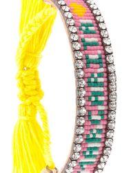 Shourouk | Multicolor Margarita Tassel Bracelet | Lyst
