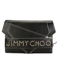 Jimmy Choo Black 'sierra' Shoulder Bag