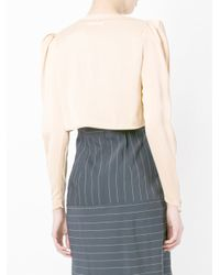Jean Paul Gaultier - Natural Tied Bolero - Lyst