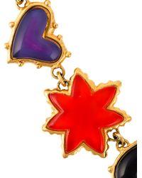 Christian Lacroix - Purple Charm Bracelet - Lyst