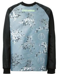 Astrid Andersen | Blue Patterned Sweatshirt for Men | Lyst