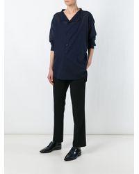 Y's Yohji Yamamoto | Black Tailored Trousers | Lyst