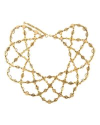 Moschino - Metallic 'festoon' Coins Necklace - Lyst