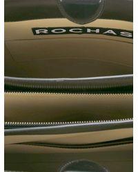 Rochas - Black Zipper Tote - Lyst