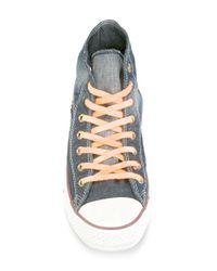 Converse - Black Denim Hi-top Sneakers for Men - Lyst