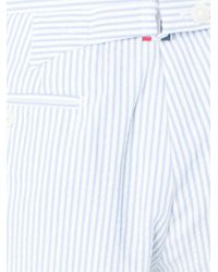 Thom Browne - White Striped Shorts for Men - Lyst