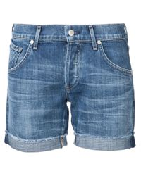Citizens of Humanity - Blue Gibson Denim Shorts - Lyst