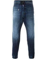 drawstring jeans - Blue Diesel Buy Cheap Real N9bnaVG