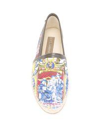 Dolce & Gabbana - Multicolor Carretto Siciliano Print Espadrilles for Men - Lyst