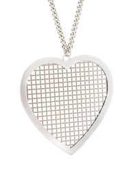 Givenchy - Metallic Heart Pendant Necklace - Lyst