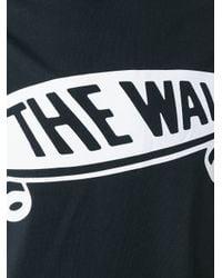 Sankuanz - Black Logo Print T-shirt for Men - Lyst