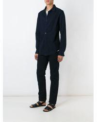 Individual Sentiments - Black Flap Pocket Straight Leg Jeans for Men - Lyst