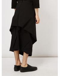 Moohong - Black Oversized Shorts for Men - Lyst