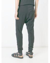 Boris Bidjan Saberi 11 - Black Drop-crotch Track Pants for Men - Lyst