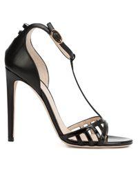 Chloe Gosselin | Black - 'hyacinth' Strappy Sandals - Women - Leather - 37 | Lyst