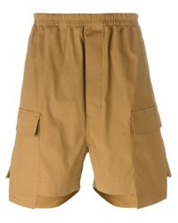 Rick Owens | Brown Cargo Shorts for Men | Lyst