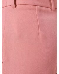 Ports 1961 Black Mohair Wide Leg Trousers