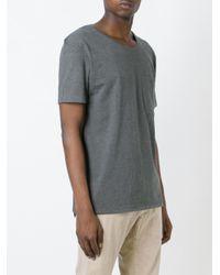 Nudie Jeans Gray Pocket T-shirt for men
