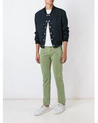 Jacob Cohen - Green - Slim Fit Trousers - Men - Cotton/spandex/elastane - 30 for Men - Lyst