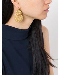 Gas Bijoux - Yellow 'very Diva' Earrings - Lyst