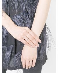 Natasha Collis - Gray Small Sapphire Nugget Ring - Lyst