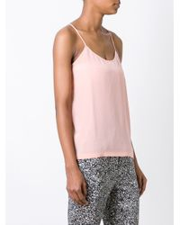 Christian Wijnants - Pink 'tigra' Crossback Strap Tank Top - Lyst