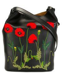 Stella McCartney | Black 'botanical' Shoulder Bag | Lyst