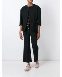 Marni Black Asymmetric Jacket