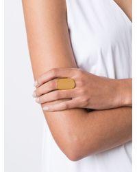 Maiyet - Metallic Large 'organic' Ring - Lyst
