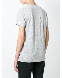 Burberry Brit Gray V-neck T-shirt
