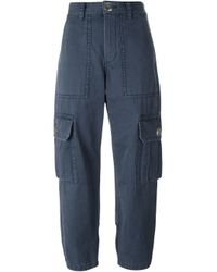 Marc By Marc Jacobs | Blue 'cargo' Trousers | Lyst