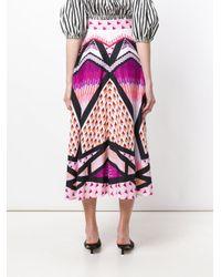 Temperley London Multicolor Sun Shade Skirt